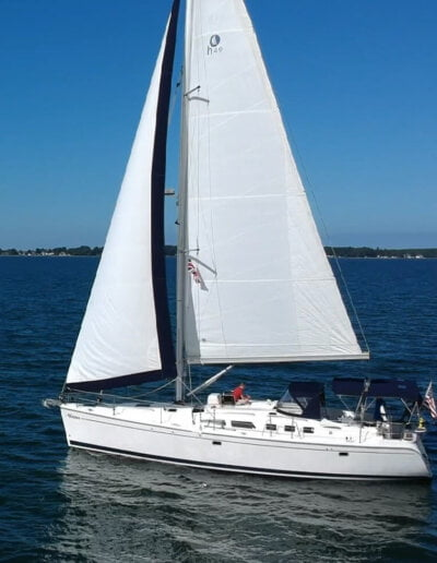 Veritas Charters Sailing on the Water