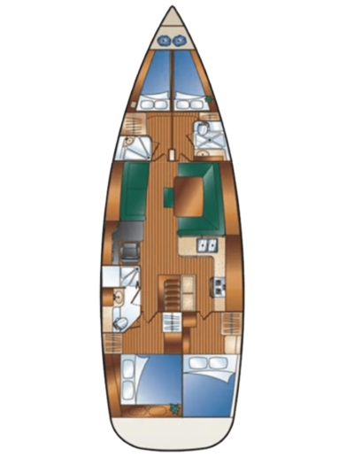 Veritas Charters Floor Plan View