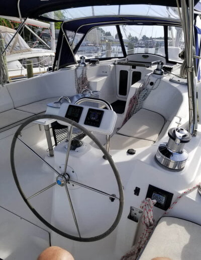 Veritas Charters Helm and Navigation Console